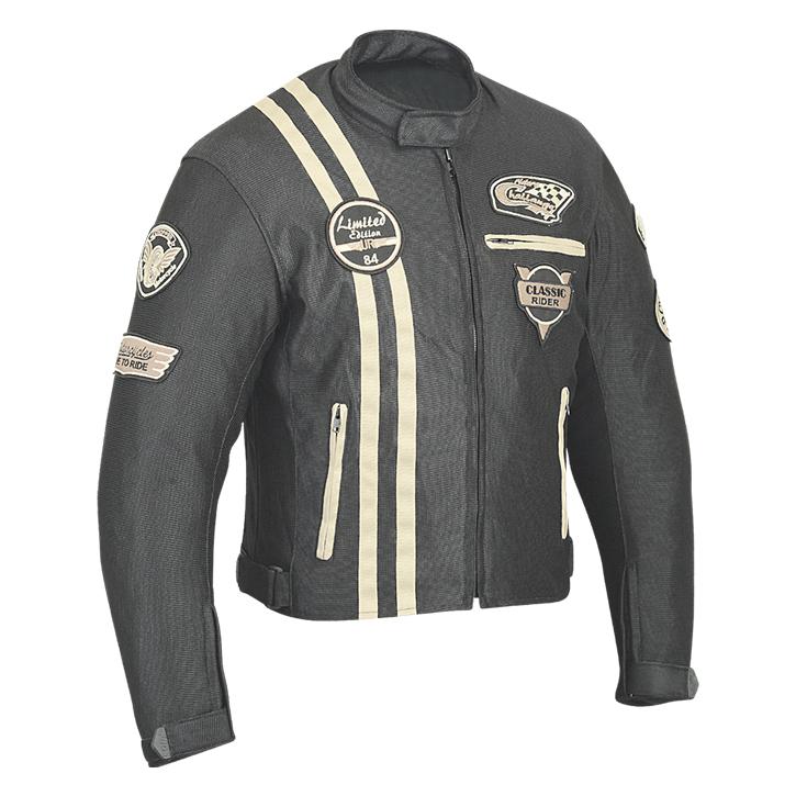 Motorcycle textile jackets